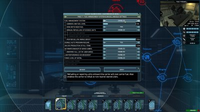 Customization menu page 7 - Fuel Management System and miscellaneous settings